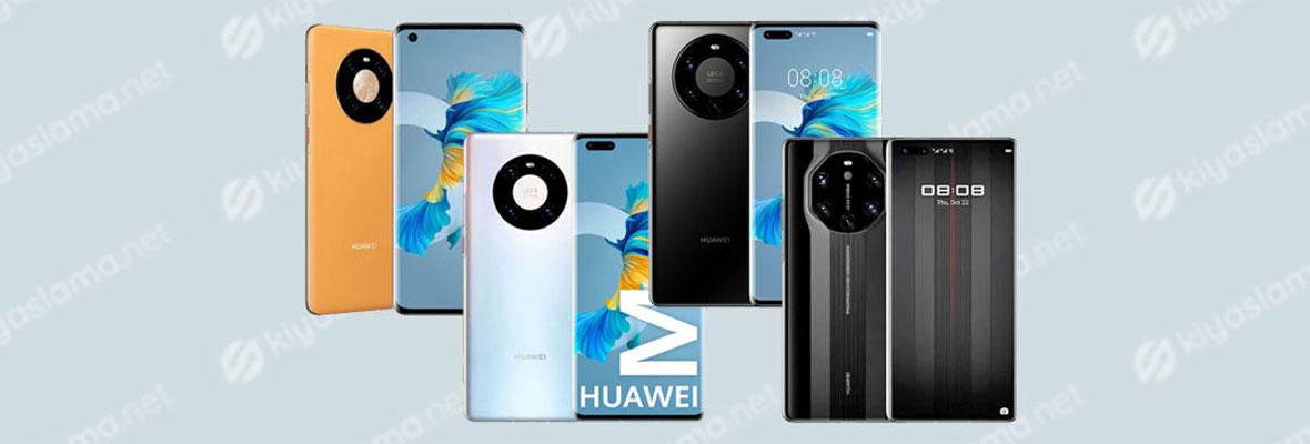 Huawei Mate 40 Ailesi Tanıtıldı. İşte Modeller!