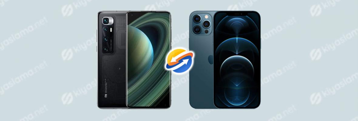 Xiaomi Mi 10 Ultra ve iPhone 12 Pro Max Karşılaştırma